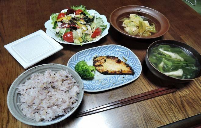食事療法(2型糖尿病)夕食