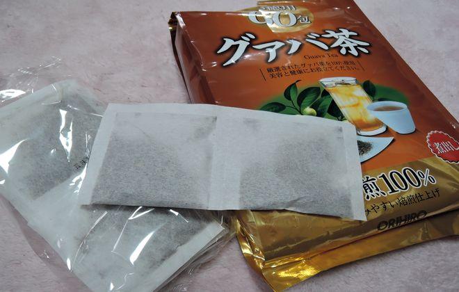 グァバ茶の作り方は簡単です。