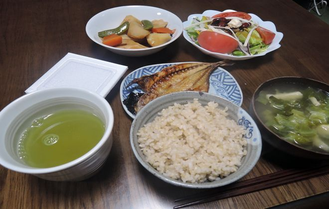 2型糖尿病治療中の夕食メニュー