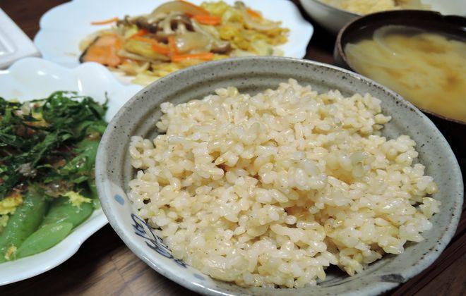 2型糖尿病の食事療法で始めた玄米食