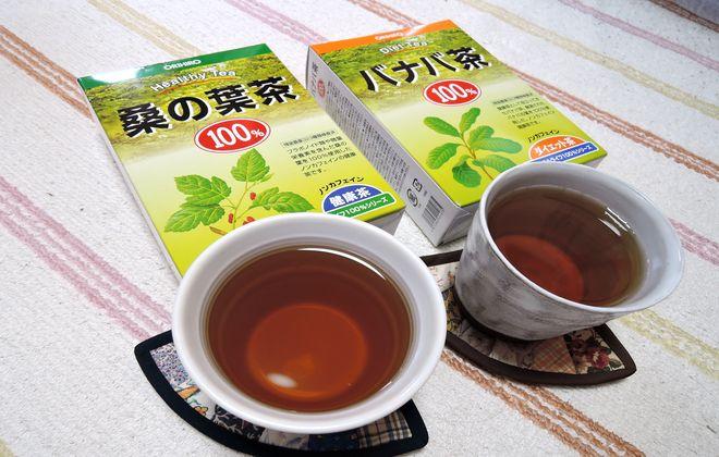 血糖値を下げるオリヒロのお茶