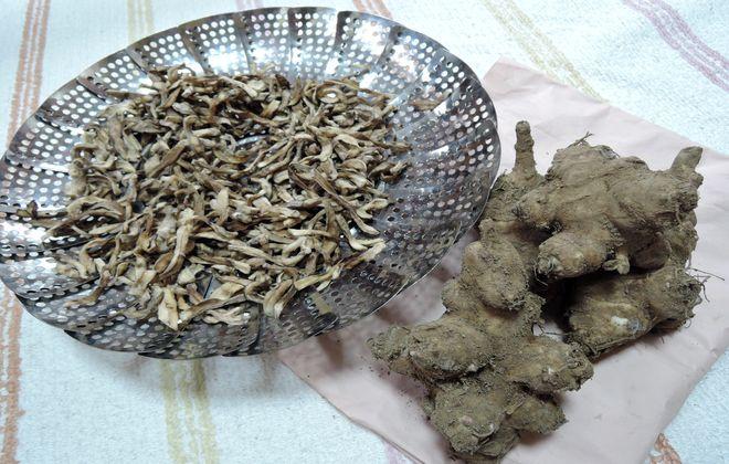 菊芋の千切り(乾燥)