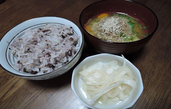 菊芋の粉末を使った料理