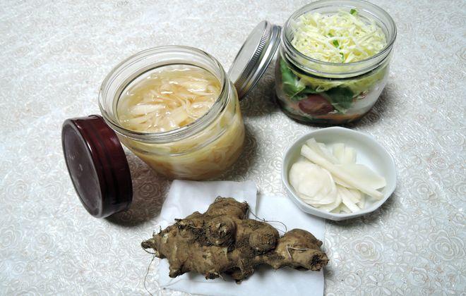 菊芋と酢玉ねぎ