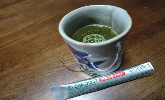 グルコケアのベースは緑茶
