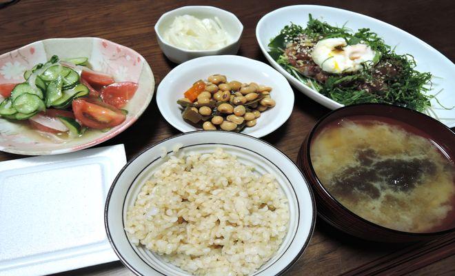 玄米食メニュー