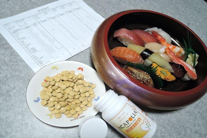 宅配寿司とアカシアポリフェノール