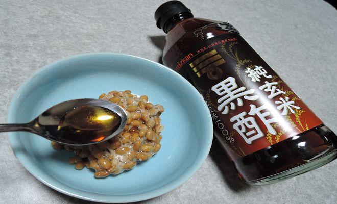 酢納豆の酢の量