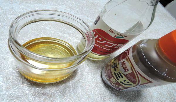 蜂蜜とお酢