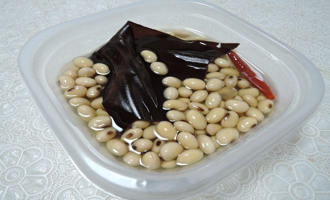 大豆のひたし豆