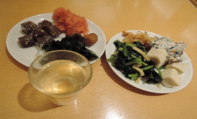 総菜と食前酢
