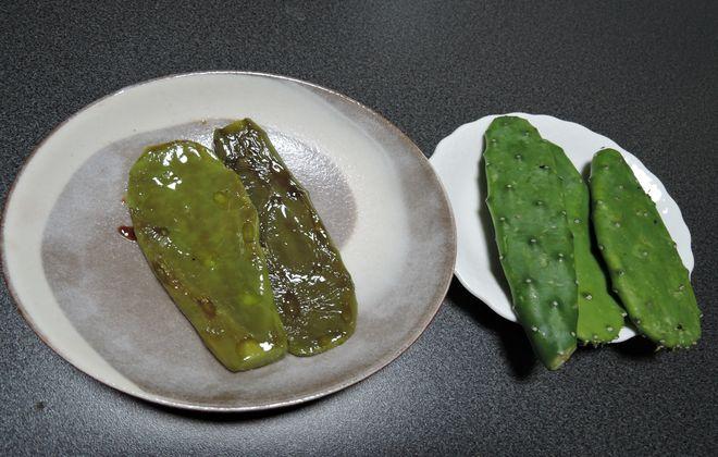 食用サボテンとサボテンステーキ