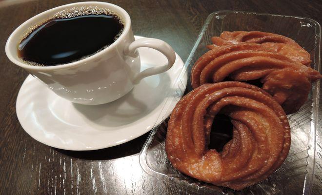 チュロッキーとコーヒー