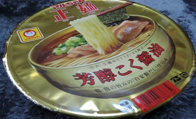 マルちゃん正麺カップ芳醇こく醤油