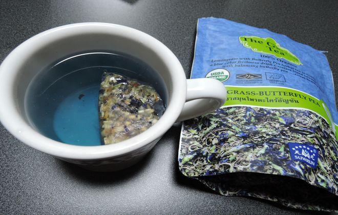 バタフライピー(青い紅茶)