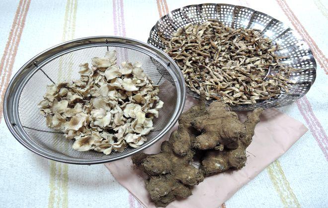 菊芋の乾燥方法