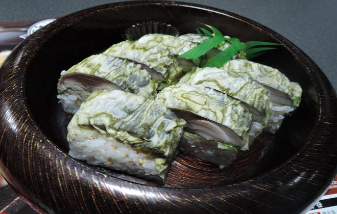 極上サバの棒寿司|つきじ海賓