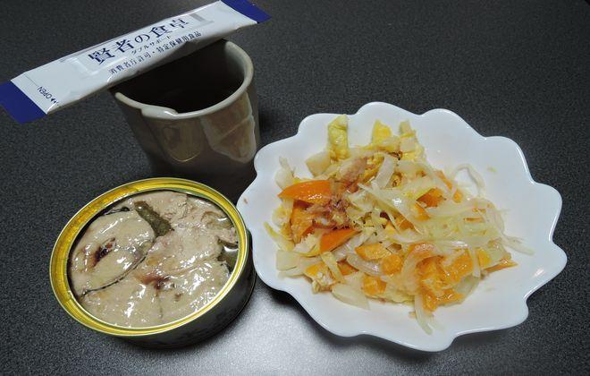 糖尿病検診二日前の昼食