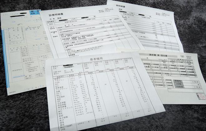 糖尿病検査結果票