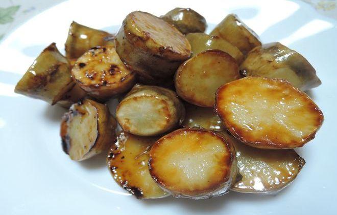 菊芋の照り焼き