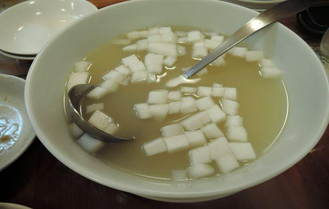 海鮮出汁のスープ