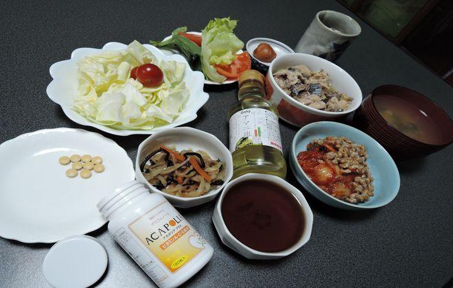 糖尿病検診前日の夕食