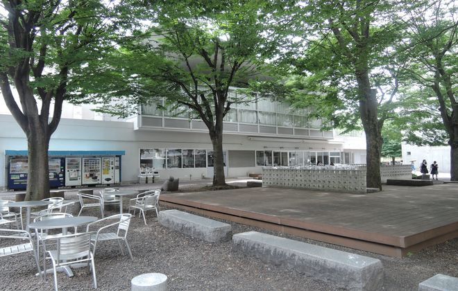文教大学越谷キャンパス(学生食堂)
