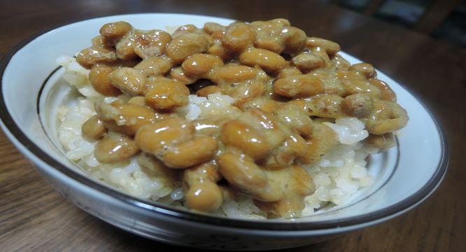 納豆と玄米