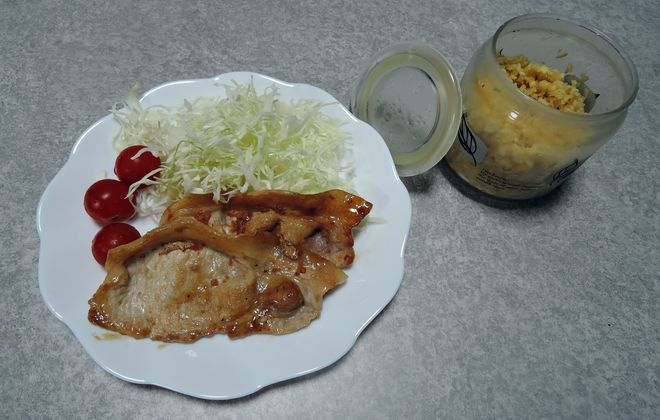 発酵生姜と豚肉の生姜焼き