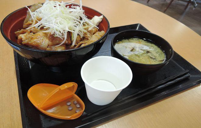 茨城県産豚のポーク丼|道の駅まくらがの里こが
