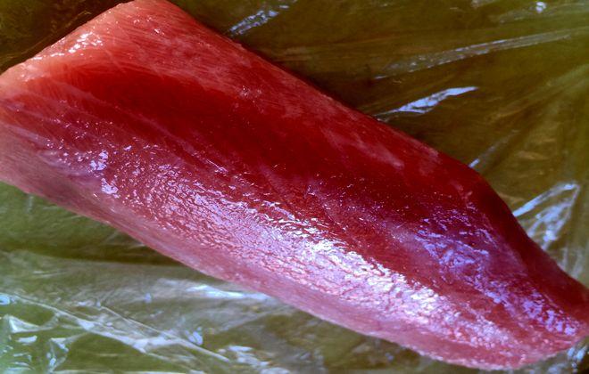 マグロの頬肉ステーキ