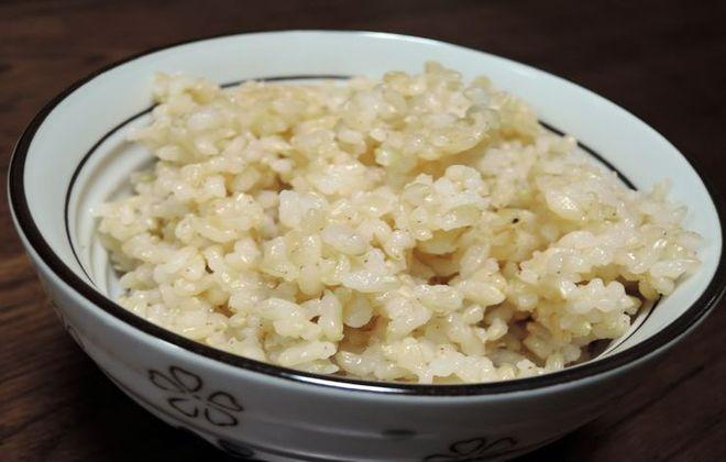 炊飯器で玄米ご飯