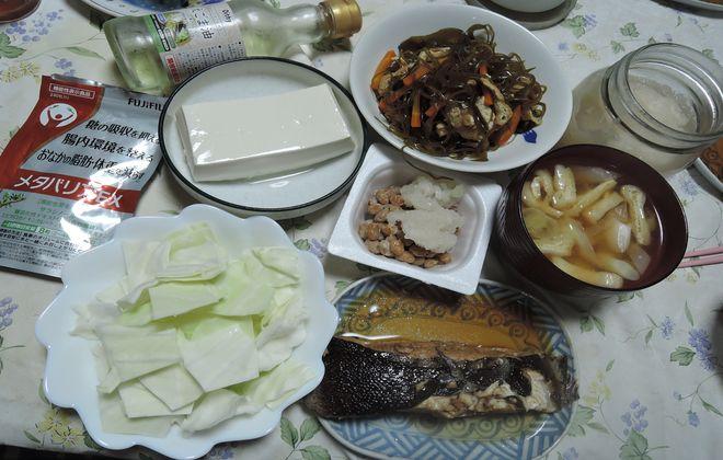 糖質制限食|夕食