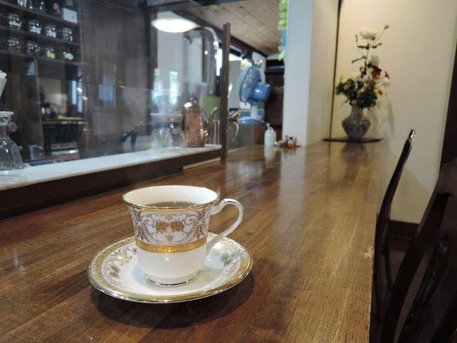 ノリタケのコーヒーカップ&ソーサ
