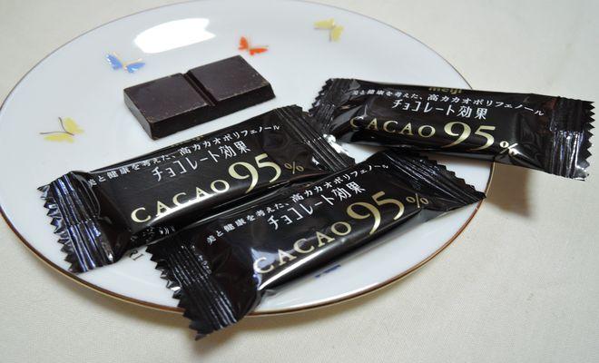 チョコレート効果カカオ95の成分
