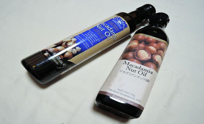 マカダミアナッツ油