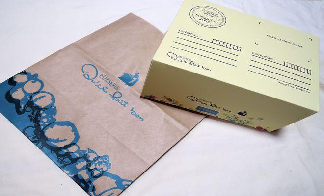 キルフェボンの紙袋