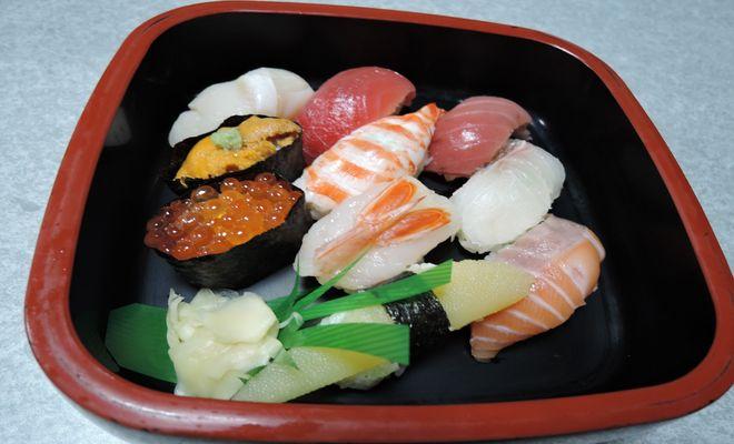握り寿司の糖質量