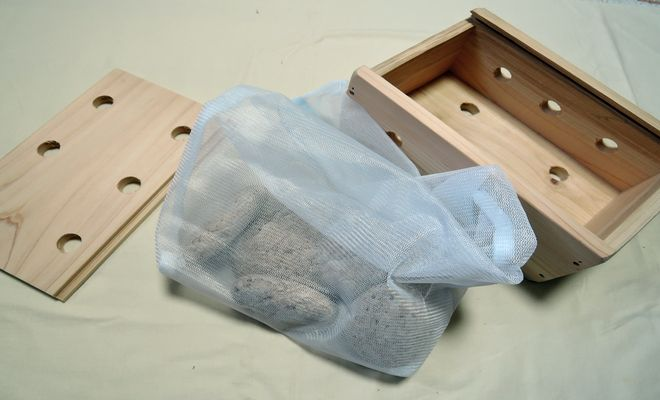 ひのき箱と姫川薬石