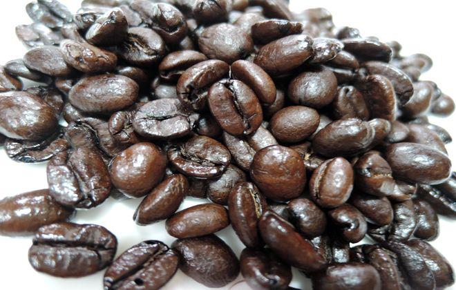 自家焙煎のコーヒー豆