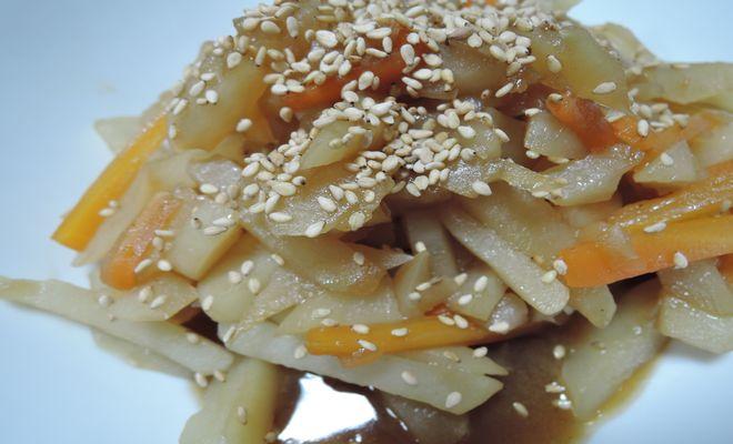 菊芋(きんぴら)