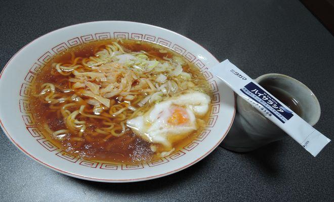 マルちゃん正麺にハイサラシア