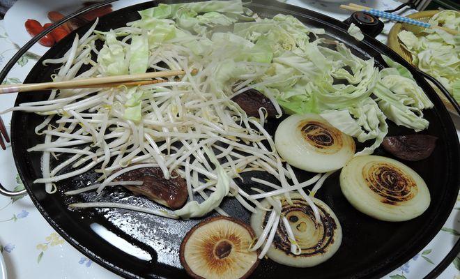 鉄板焼き(野菜)