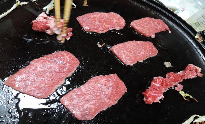 鉄板焼き(牛肉)