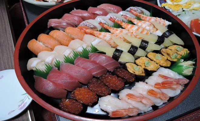 つきじ海賓の宅配寿司(極上5人前)