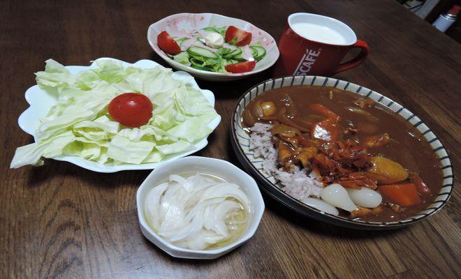 食後血糖値上昇を抑えるカレーライスの食べ方