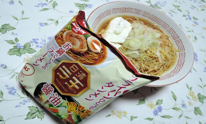 日清ラ王醤油味(袋麺)