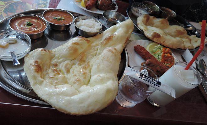 インド料理とハイサラシア