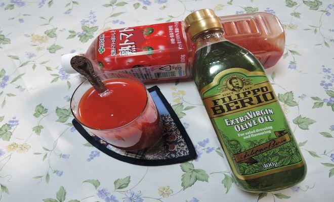 ホットトマトジュース