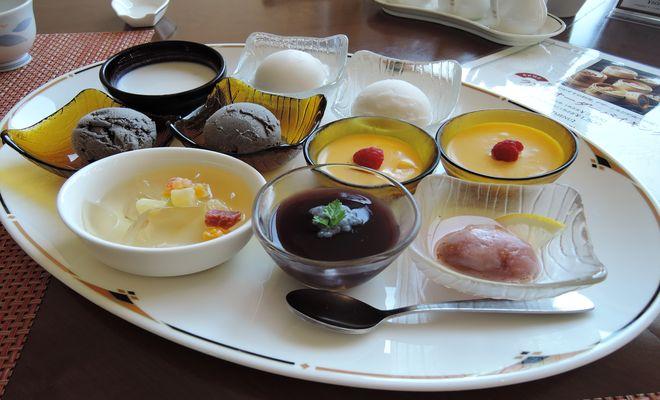 中華料理ランチバイキング(デザート)